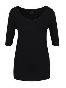 Černé dámské tričko Tommy Hilfiger Jada Ballerina