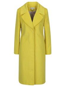 Palton galben cu revere Miss Selfridge