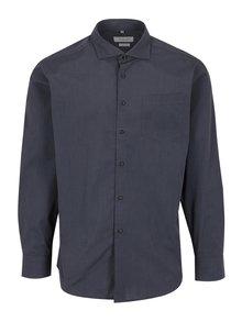 Tmavosivá pánska formálna košeľa Seven Seas