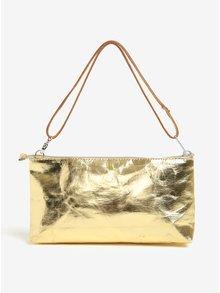 Listová kabelka v zlatej farbe UASHMAMA® La Busta