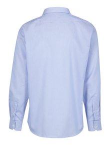 Bílo-modrá pánská pruhovaná formální košile Seven Seas