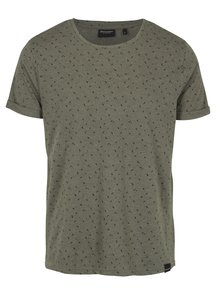 Kaki pánske tričko s krátkym rukávom Broadway Rami
