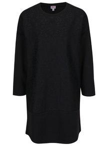Černé krajkové mikinové šaty Juicy Couture