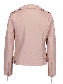 Staroružová koženková bunda Miss Selfridge