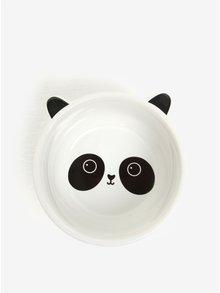 Čierno-biela miska v tvare pandy Sass & Belle