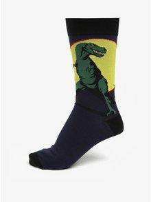 Tmavě modré pánské ponožky s dinosaurem Sock It to Me T-Rex
