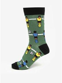 Černo-zelené pánské vzorované ponožky Sock It to Me Gooal