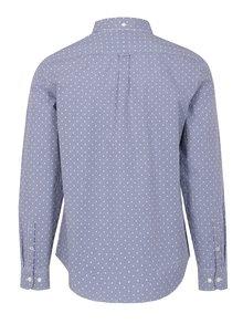 Bielo–modrá kockovaná slim fit košeľa Original Penguin Mini Gingham