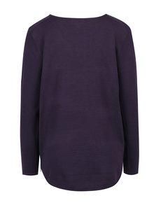 Fialový svetr se zipy Apricot