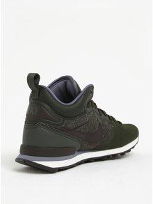 Tmavozelené pánske tenisky Nike Internationalist Utility