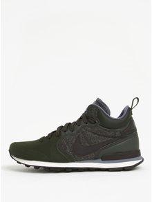 Tmavě zelené pánské tenisky Nike Internationalist Utility