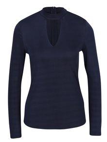Bluza bleumarin cu decolteu tip lacrima - VERO MODA Jennie