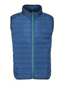 Modrá pánská vodoodpudivá prošívaná vesta LOAP Itep