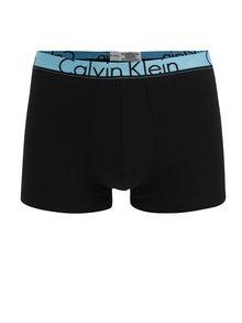 Súprava dvoch modro-čiernych vzorovaných boxeriek Calvin Klein