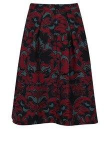 Červeno-černá áčková sukně Scotch & Soda