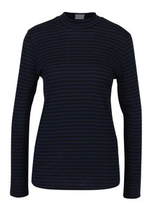 Tmavě modré pruhované tričko Jacqueline de Yong Spirit