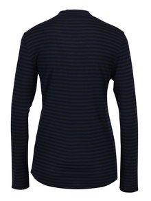 Tmavomodré pruhované tričko Jacqueline de Yong Spirit