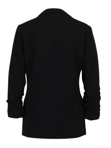 Černé sako s 3/4 rukávy ONLY Diana