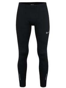 Čierne pánske funkčné legíny Nike