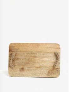Dřevěné prkénko s úchopy z juty SIFCON
