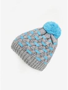 Sivá chlapčenská čiapka s brmbolcom 5.10.15