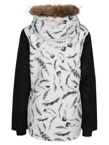 Krémová dámska funkčná vodovzdorná zimná bunda MEATFLY Chelsea