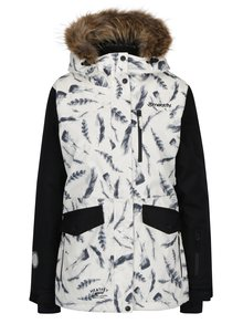 Krémová dámská funkční voděodolná zimní bunda MEATFLY Chelsea