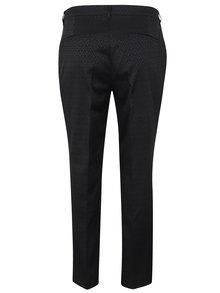 Černé vzorované kalhoty Ulla Popken