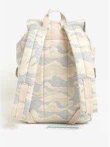 Sivo-krémový maskáčový batoh Herschel Dawson 20,5 l