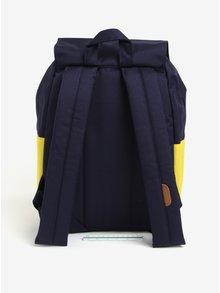 Rucsac bleumarin&galben cu model romburi Herschel Reid