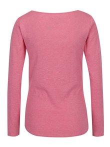 Bluza basic roz cu decolteu rotund  M&Co