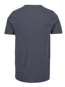 Tricou gri&galben cu print text Jack & Jones Vintage Recycle Adam