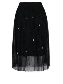 Černá tylová midi sukně Haily´s Alicia