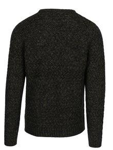 Tmavozelený pletený sveter ONLY & SONS Odin