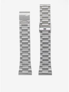 Ceas unisex argintiu cu bratara metalica - LARSEN & ERIKSEN 41 mm