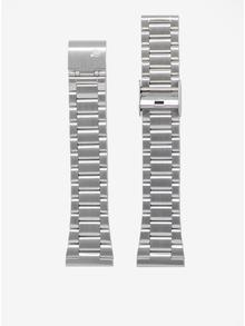 Ceas unisex argintiu cu bratara metalica - LARSEN & ERIKSEN 37 mm