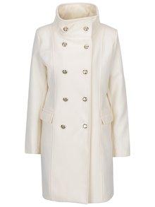 Krémový kabát s knoflíky ve zlaté barvě ZOOT