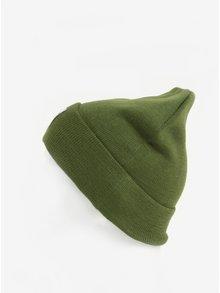 Tmavě zelená čepice Dedicated Kiruna
