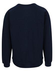 Bluza bleumarin cu model logo Dedicated Malmoe Retro