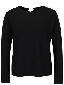 Čierne tričko so šnurovaním TALLY WEiJL