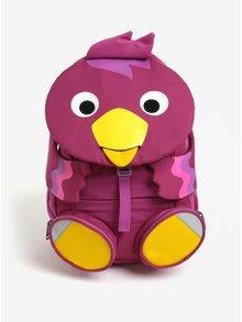 Fialový batoh v tvare papagája Affenzahn 8 l