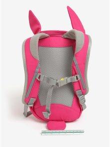Ružový batoh v tvare zajaca Affenzahn 4 l