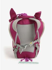 Fialový batoh v tvare koníka Affenzahn 4 l