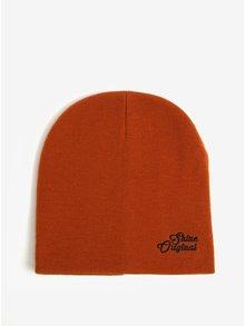 Oranžová čiapka Shine Original