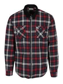 Modro-červená károvaná košeľa Shine Original