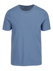 Tricou basic albastru din bumbac pima - Selected Homme The Perfect