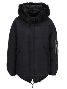 Čierna zimná bunda TALLY WEiJL