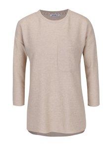 Béžový tenký sveter s 3/4 rukávom Haily´s Lena
