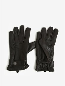Hnědé kožené rukavice Lindbergh