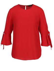 Červená halenka se zvonovými rukávy Dorothy Perkins